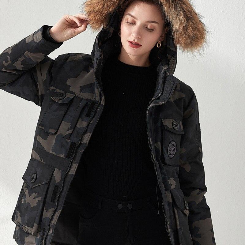 2019 fonds amoureux coder saison longue fonds bas vestes femme vêtements de travail Super raton laveur cheveux plomb facile épaississement
