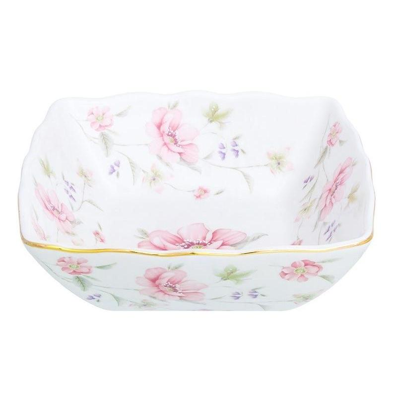 Салатник Elan gallery, Диана, 16*16*7,5 см available from 10 11 set of salad bowls 2 ave 16 16 7 cm 790 ml white lace elan gallery 540159