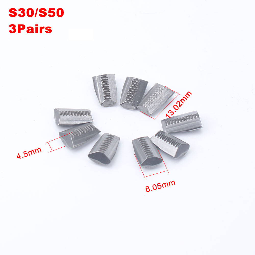 S30/S50/4000MV/4000LV/4000HV Riveter Jaws Parts Riveter Guns Claws