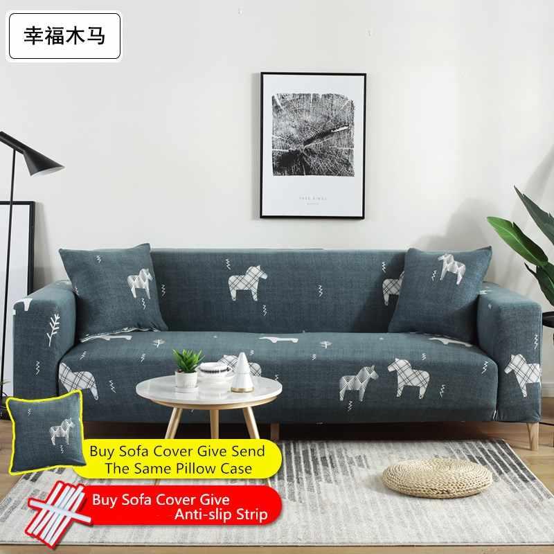 Adorable funda de sofá de LICRA para gatos, funda de sofá seccional con patrón de gatos, cubierta de sofá todo incluido, Protector de muebles