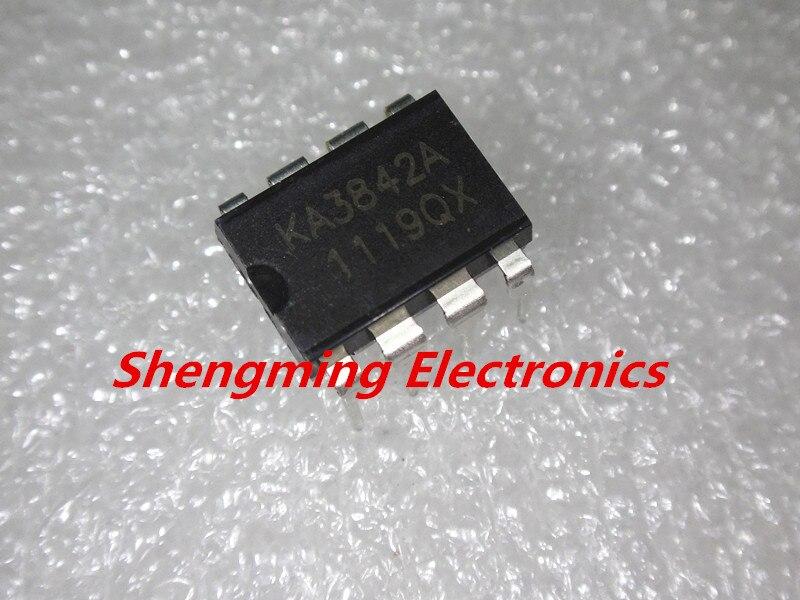 5PCS KA3842A KA3842 DIP-8 Linear Integrated SMPS Controller