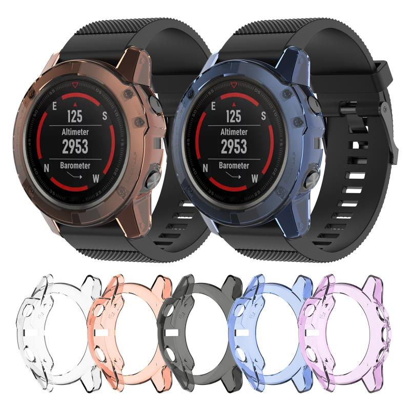 Shell-Cover Case Protector Watch Rubber Garmin Fenix Fenix5x5x-Plus for TPU title=