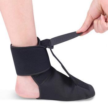 Regulowana orteza stóp orteza pielęgnacja stóp ulga w bólu stabilizator stawu skokowego do sportów outdoorowych медля ног enkelbandje tanie i dobre opinie CN (pochodzenie) Diving Material Foot Orthotic Brace