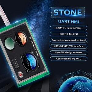 Каменная человеческая машина интерфейс Серийный ЖК-панель модуль с контрольной платой + программное обеспечение + сенсорный экран для пром...