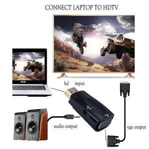 Image 3 - Nieuwe Hd 1080P Hdmi Compatibel Naar Vga Adapter Digitaal Naar Analoog Converter Kabel Voor Pc Laptop Tv Box computer Display Projector