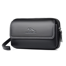 Men Wallets Business multifunction purse Clutch bag card holder Phone bag with Waist bag Big Capacity wallet 2020 cartera hombre