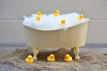 Newborn Baby Photography Props Shower Bathtub Infant Photo Studio Posing Basket Accessories