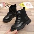 Женские нескользящие Ботинки Martin  модные вязаные ботинки для снега  обувь для детей на осень и зиму  2019