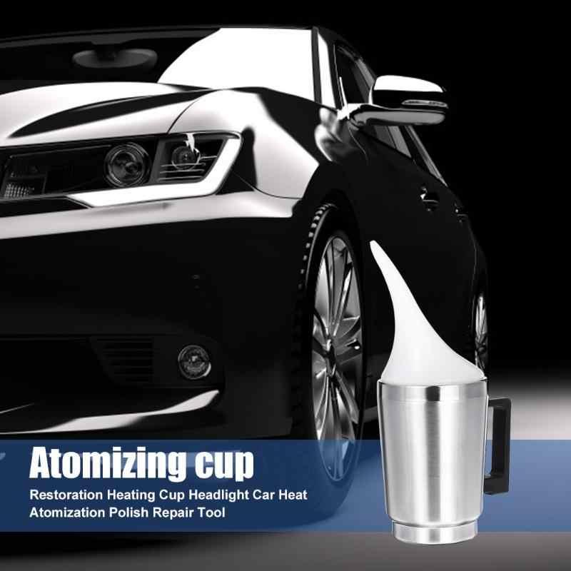 Restauración de alto brillo de la taza de calefacción del faro protección del medio ambiente y durabilidad herramienta de reparación de pulido de coche automático