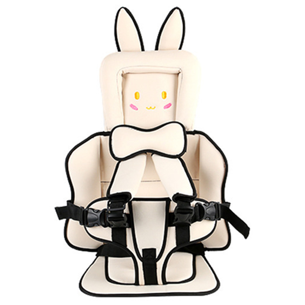 Cartoon Child Toddler Seat Portable Adjustable Protect Baby Sofa Simple Child Cushion Travel Belt Cushion Kid Baby Chair Carrier