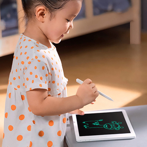 """Image 4 - Xiaomi mijia lcd tablet de escrita em estoque com caneta 10/13. placa gráfica de caligrafia eletrônica desenho digital 5 """", bloco de mensagem"""