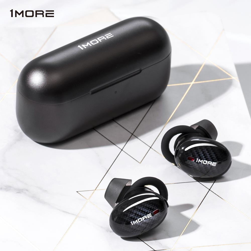 1MORE Wireless Headphones Active Noise Cancelling Hybrid Drivers TWS Plus Bluetooth Earphones 5.0 Aptx/AAC Apt-x Fast Charging