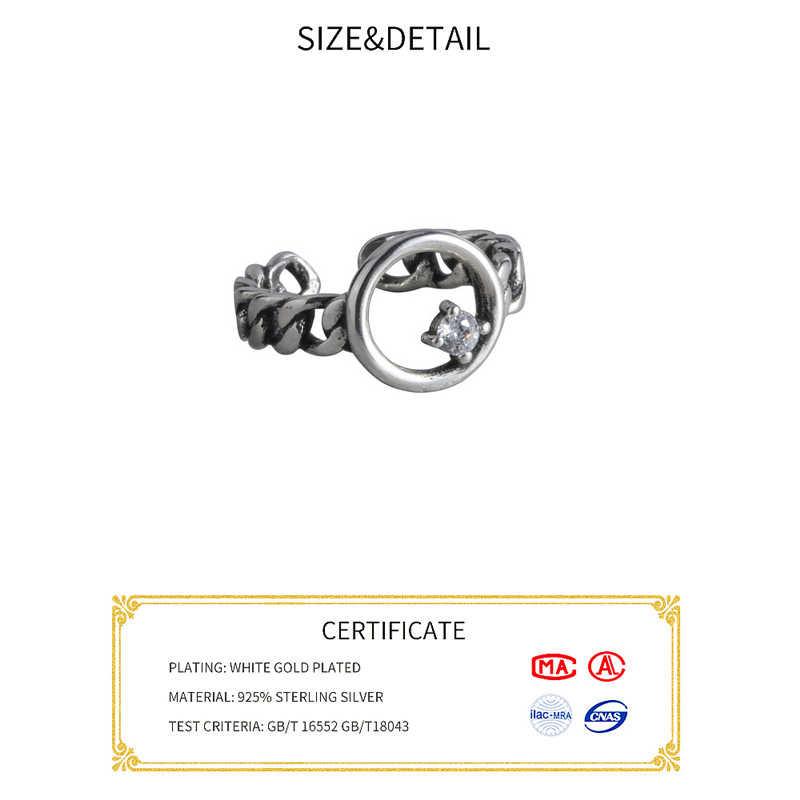 Echt 925 Sterling Zilveren Sneeuwvlok Bloem Ringen Voor Vrouwen Open Size Vinger Ring Wedding Party Luxe Zilveren Sieraden