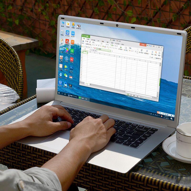 Full-size Keyboard With Numeric Keypad Laptop 15.6 Inch I3 Laptop Computer