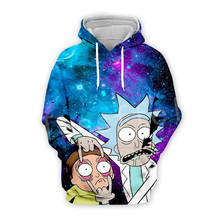 Tessffel Anime Rick and Morty New Fashion Funny Colorful Cartoon Tracksuit 3DPrint Hoodie/Sweatshirt/Jacket/shirts Men Women s16
