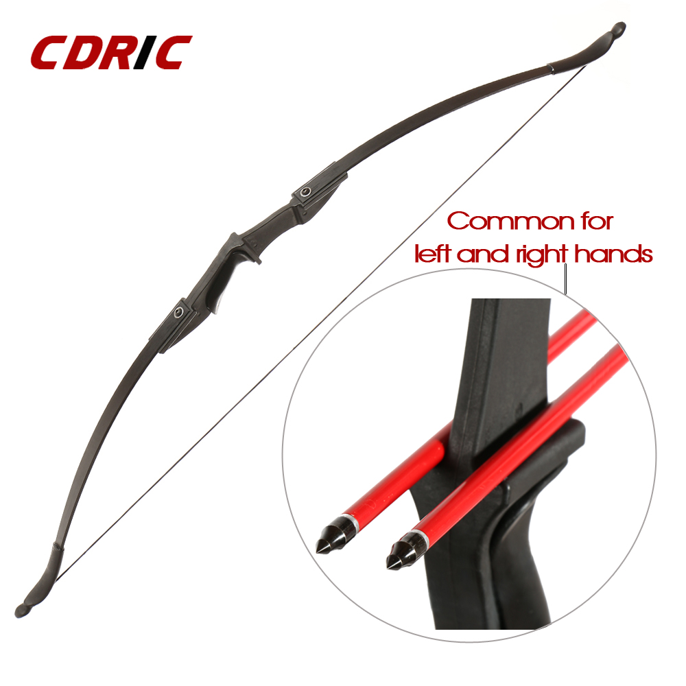 30-50Ibs Powerful Recurve Bow Professional Archery Bow With Double Arrow Rest For Left And Right Hands Outdoor Hunting Shooting