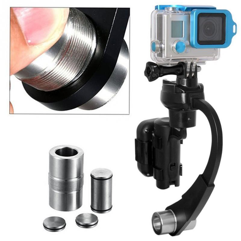 Mini Handheld Gimbal Holder Camera Stabilizer Anti-slip Quick Release Reduce Vibration Professional Camera Support For Go Pro