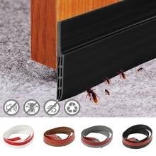 Sob o rascunho da porta rolhas tempo decapagem de poupança de energia blocker janela vedação tira de ruído rolha isolador porta impedir