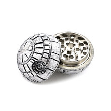 Creative Ball Herb Grinder Weed Tobacco Crusher Hand Cigarette Smoking Accessories 3 Layer Zinc Alloy Smoke Grinders Gadgets(China)
