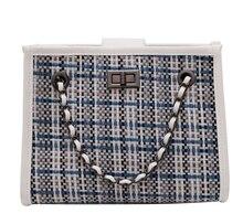 Classic Fashion Plaids Lady Tote Bag