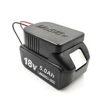 リチウムイオンバッテリーコンバータ DIY ケーブル出力接続アダプタマキタ 18V ボッシュ 18V リチウムバッテリーアダプターアクセサリー