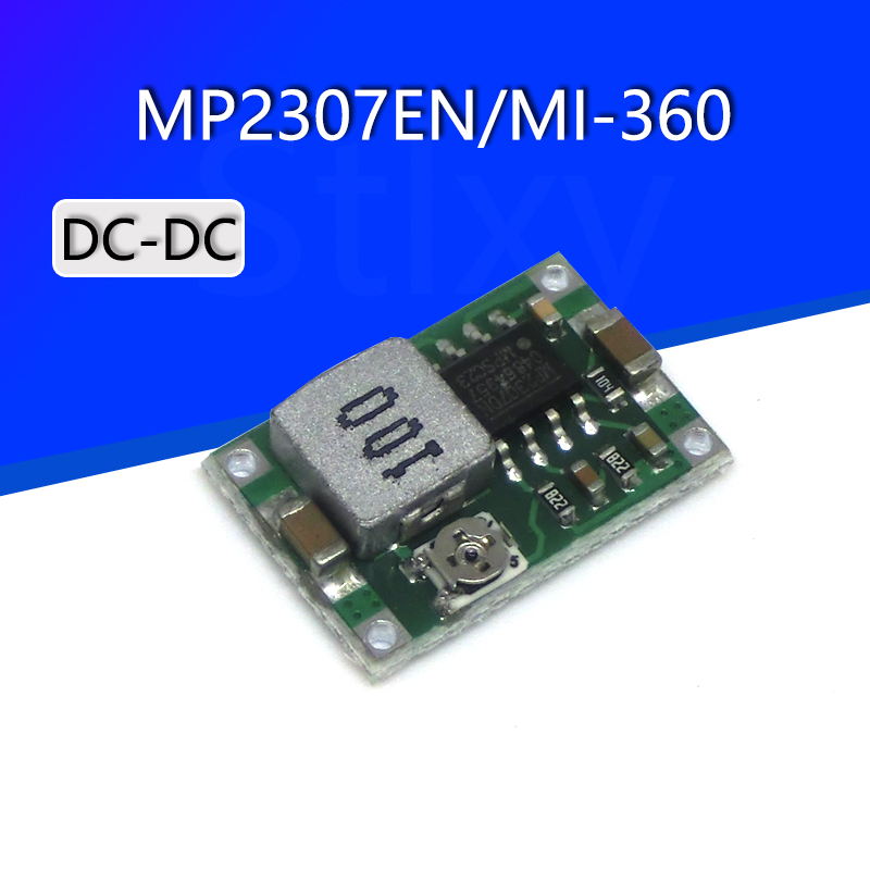 Smart Electronics Mini-360 Model Aircraft DC-DC Step-Down Power Supply Module Better Than LM2596 for arduino Diy Kit