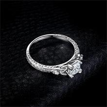Sterling Silver Celtic Knot Princess Ring for Women