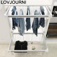 Roupas No Guarda Etagere Organizadores De Armario Home Organizacion Shelf Estante Prateleira Adjustable Closet Organizer Basket
