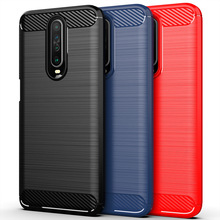 For Xiaomi Redmi K30 Case Soft Carbon Fiber Shockproof Bumper Full Protection Silicone Phone Cover For Xiaomi Redmi K30 6.67inch mofi for xiaomi redmi 5 plus case cover silicone carbon fiber soft tpu shock full protector cases for redmi 5 plus phone cover