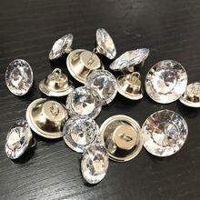 50 boutons en acrylique à coudre pour canapé, bricolage, rembourrage en diamant pour tête de lit, accessoires en cristal acrylique 18/20/25/30MM