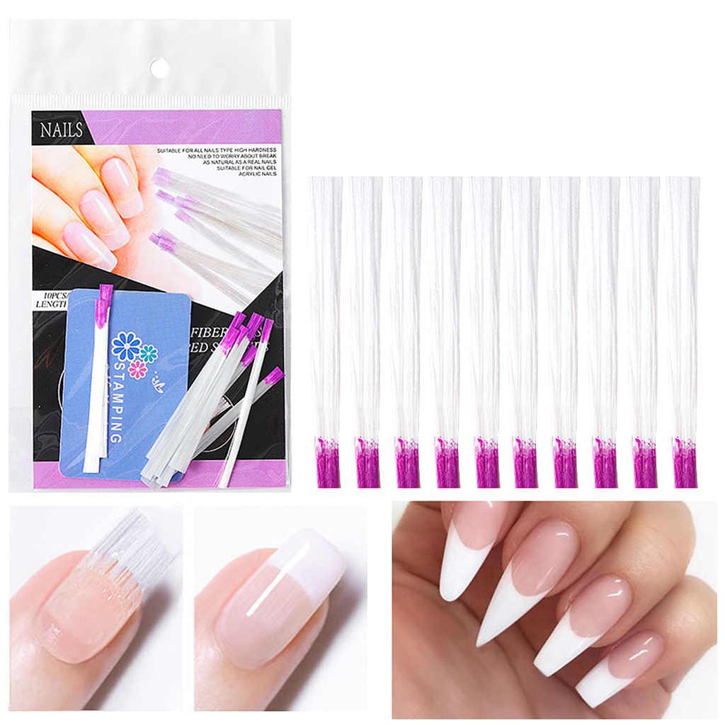 Do paznokci z włókna szklanego rozszerzenia z włókna szklanego do paznokci jedwabiu budowania rozszerzenie narzędzia do Manicure do paznokci artefakt