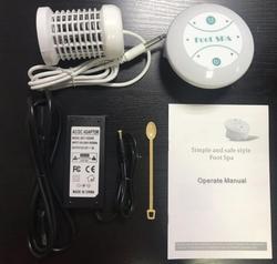 Detox Maschine Ion Reinigen Ionischen Detox Fußbad Aqua Zell Spa Maschine Fuß SPA Massage