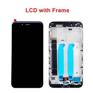 Image 2 - Original LCD Display für Xiaomi Mi A1 LCD Bildschirm mit Rahmen 10 Touch Ersatz Bildschirm für Xiaomi Mi 5X A1 miA1 Mi5X Lcd Bildschirm