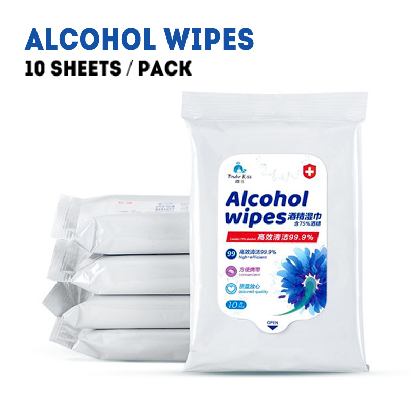 Original 75% Alcohol Wipes Disinfectant Wipes Desinfektionsmittel Home Alcohol PadS Rubbing Antibacterial Hand Antiseptic SU335