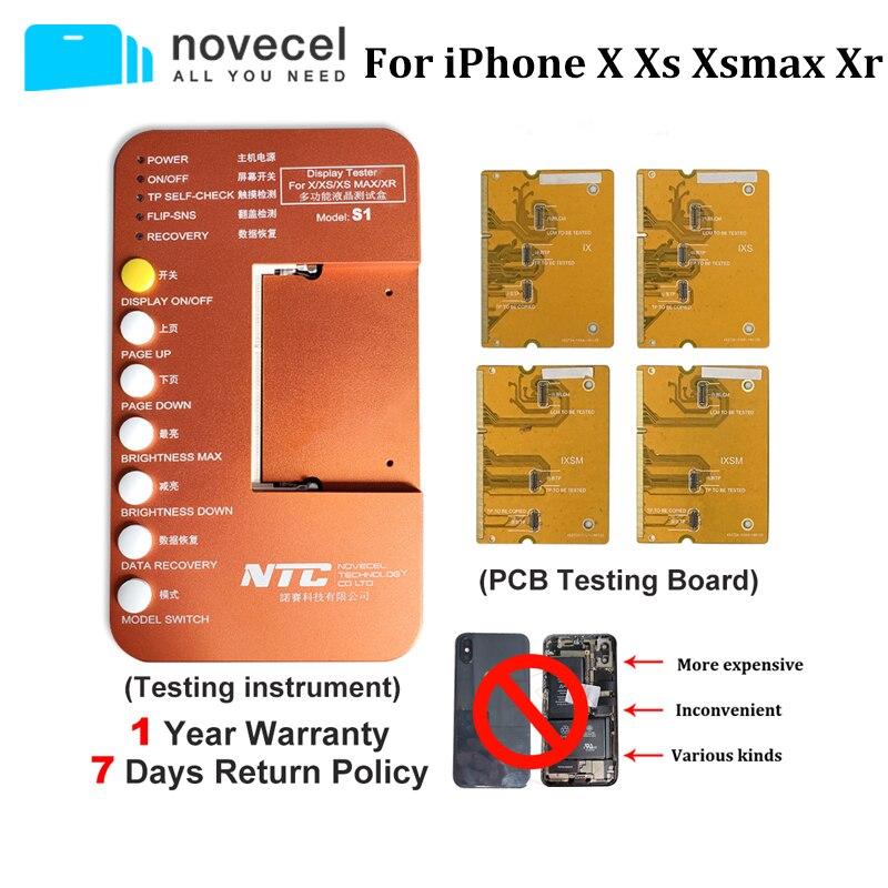 S1 тест мобильного телефона ЖК тест er Box тест подложки для iPhone X XS XR XSMAX тестер материнской платы ЖК экран сенсорный 3D сенсорный тест