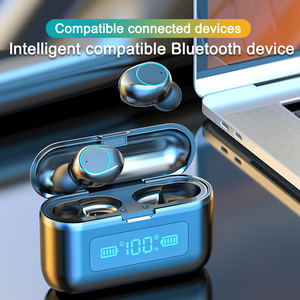 Image 5 - Wireless Bluetooth Earphone with Microphone Sports Waterproof Wireless Headphones5.0TWS Headsets Touch Control Earbuds For Phone
