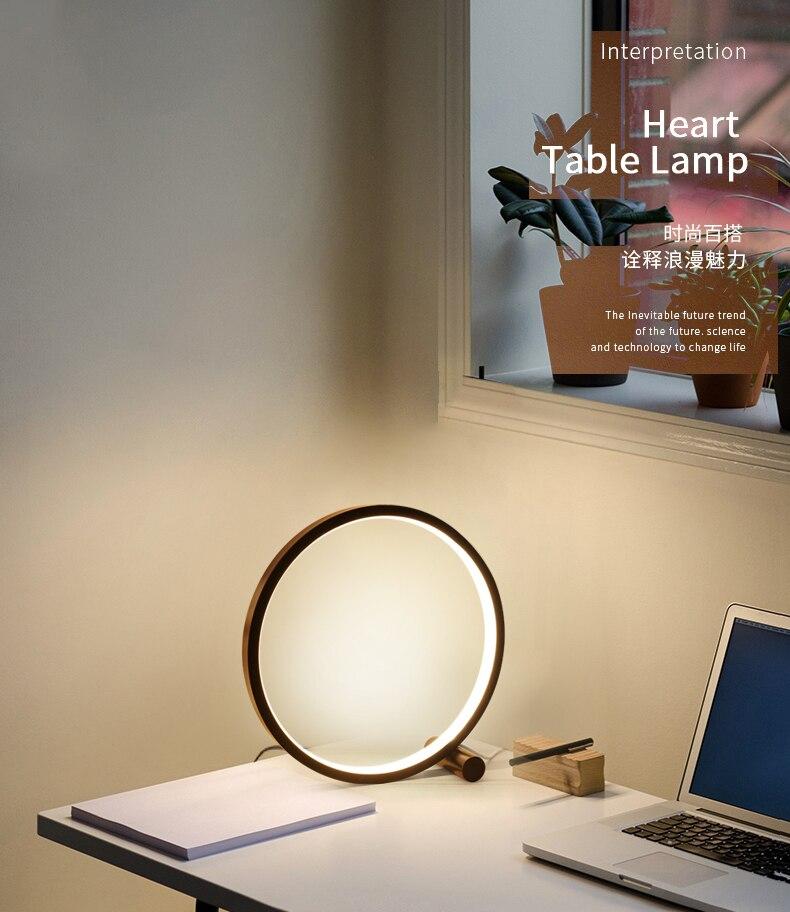 led lamp table