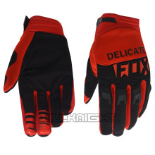 Nouveau vilain FOX MX Motocross course gants moto montagne saleté vélo cyclisme Sports plein air DIRTPAW rouge gants(China)