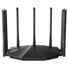 AC23 2100M Gigabit Dual-Band WiFi Router Amplifier 2.4 5GHz Repeater Coverage Network Extender, With 7 6dBi High Gain Antennas