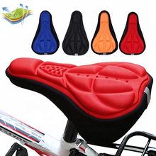 Cushion Sponge-Pad Cycling-Seat-Cover MTB Mountain-Bike Soft Outdoor Breathable 3D 28x16cm