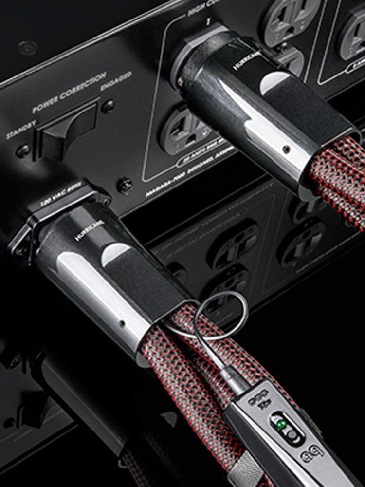 Power-Cable Dragon High-Current 3-Pole Schuko-Plug EU AC Low-Z/noise-Dissipation