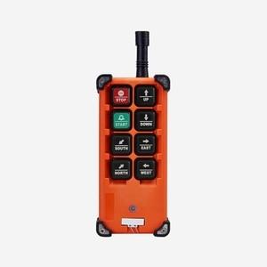 Image 5 - 무료 배송 호이스트 크레인 8 채널 컨트롤러 2 송신기 1 수신기에 대한 산업용 무선 원격 제어 f21 e1b