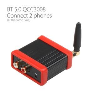 Image 2 - QCC3008 HIFI Class بلوتوث 5.0 4.2 استقبال الصوت مكبر للصوت مرحبا فاي سيارة ستيريو تعديل دعم APTX تأخير منخفض الذهب الأسود