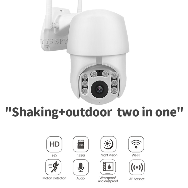 DiscountÎ3d-Camcorder Video Wifi Outdoor Surveillance-Camera Ip-Cam CCTV Waterproof Security Home