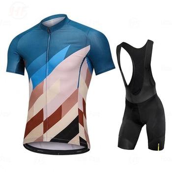 Camisa de ciclismo go pro mavic, conjunto de roupa de verão, equipe de ciclismo, shorts de bicicleta, roupas esportivas 1