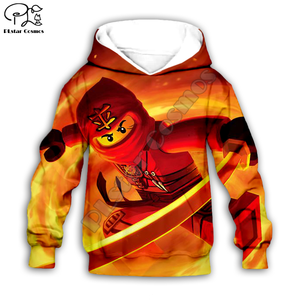 Boys Sweatshirts Legoes Long Sleeved  Baby Ninjago Girls Hoodies/boy Girl Sweatshirt Cartoon  Pant Style-6