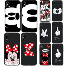 Phone Case For iPhone 8 7 6 6s Fashion Cartoon cat TPU Protective Cover For iPhone X iPhone 7 7 Plus Mobile Phone Case Fundas hat prince protective tpu case cover w stand for iphone 6 4 7 white