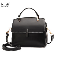 BRIGGS Vintage Women Crossbody Bag Small PU Leather Shell Bags For Designer Ladies Hand 2019 Handbag sac a main femme
