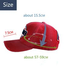 D2 Men's Outdoor Baseball Cap DSQ Cotton Embroidered WOMEN'S