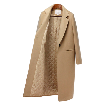 Winter Coat Women New Arrival Fashion Cashmere Wool Coat Outerwear Female Long Thickening Warm Woolen Coat Women Trench Coat new winter coat women oversize fashion cashmere wool outerwear female long thickening warm woolen overcoat womens trench coats